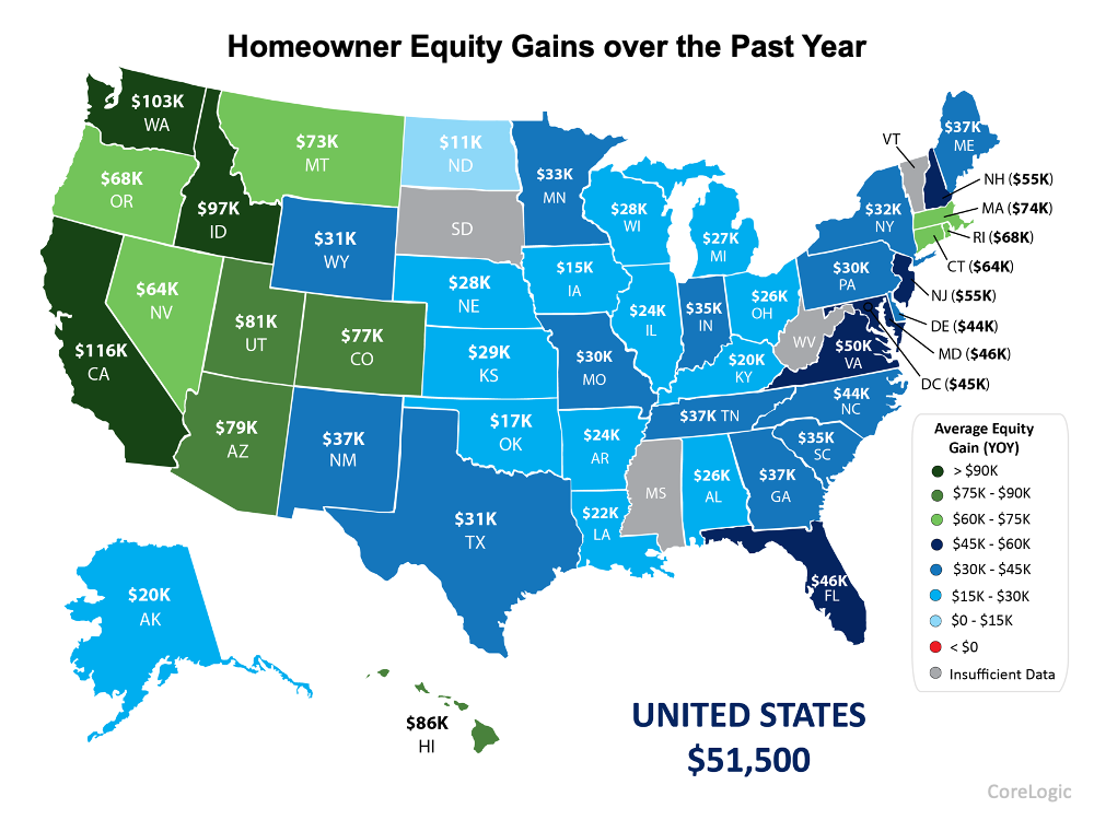 As Home Equity Rises, So Does Your Wealth   Simplifying The Market